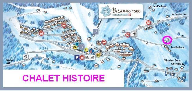 Vacaciones en montaña Chalet Histoire - Les Saisies - Plano