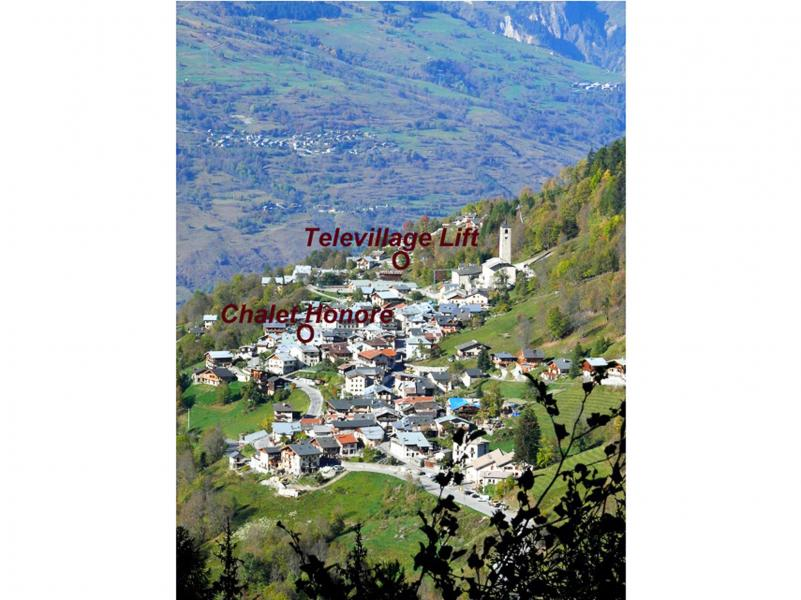 Vacanze in montagna Chalet Honoré - Peisey-Vallandry - Esteriore estate