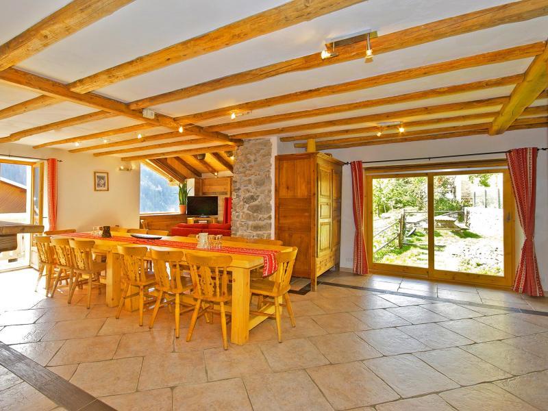 Vacanze in montagna Chalet Honoré - Peisey-Vallandry - Sala da pranzo