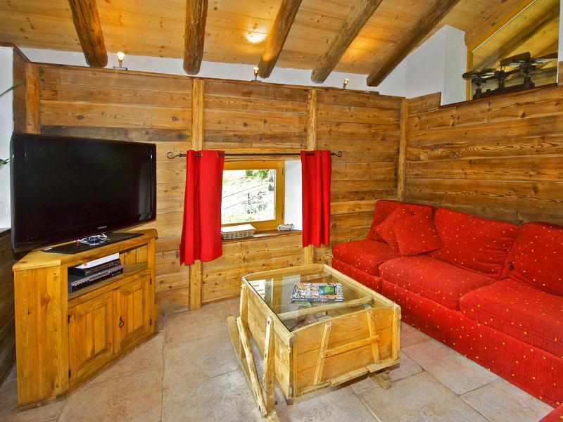 Vacanze in montagna Chalet Honoré - Peisey-Vallandry - Soggiorno