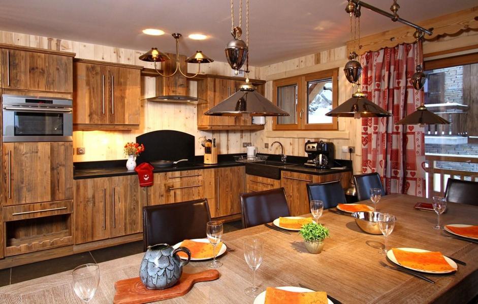 Vacances en montagne Chalet Husky - Les 2 Alpes - Cuisine ouverte