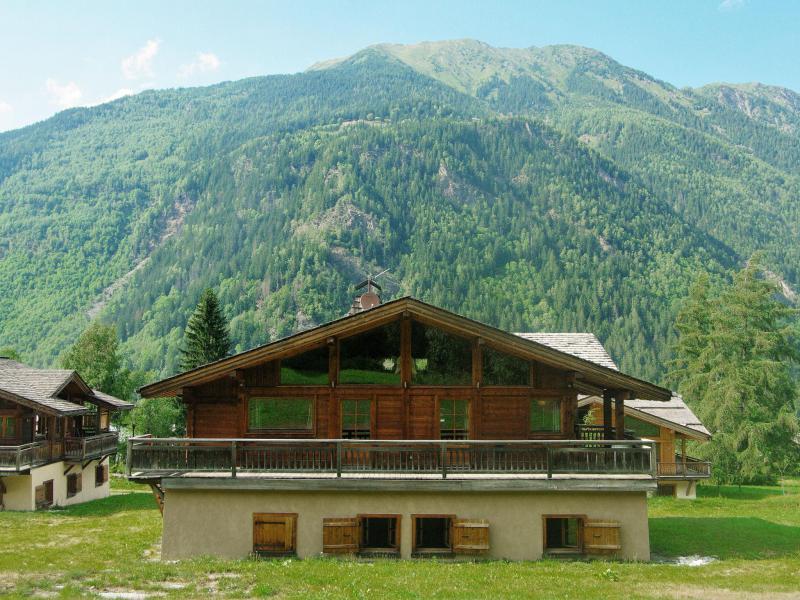 Location au ski Chalet 6 pièces 10 personnes (1) - Chalet Ibex - Les Houches - Extérieur été