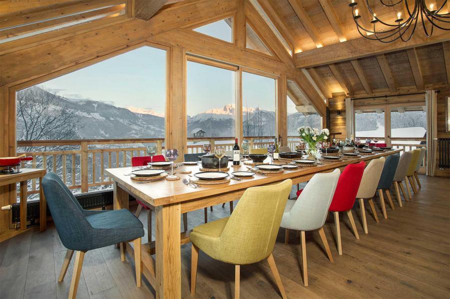 Vacances en montagne Chalet Iona - Méribel - Salle à manger