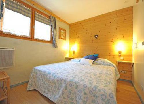 Vacances en montagne Appartement 4 pièces 6 personnes - Chalet Iris - Saint Martin de Belleville - Lit double