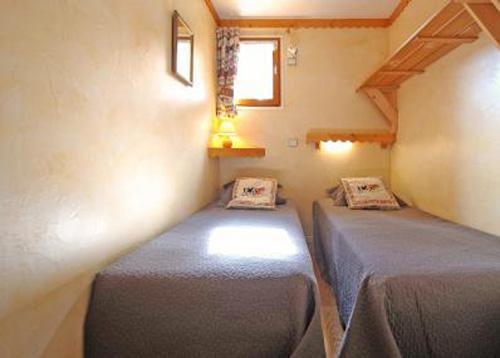 Vacances en montagne Appartement 4 pièces 6 personnes - Chalet Iris - Saint Martin de Belleville - Lit simple