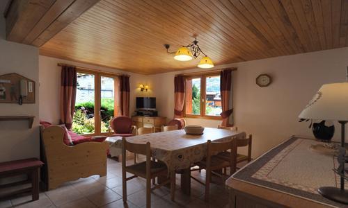 Vacances en montagne Appartement 4 pièces 6 personnes - Chalet Iris - Saint Martin de Belleville - Séjour