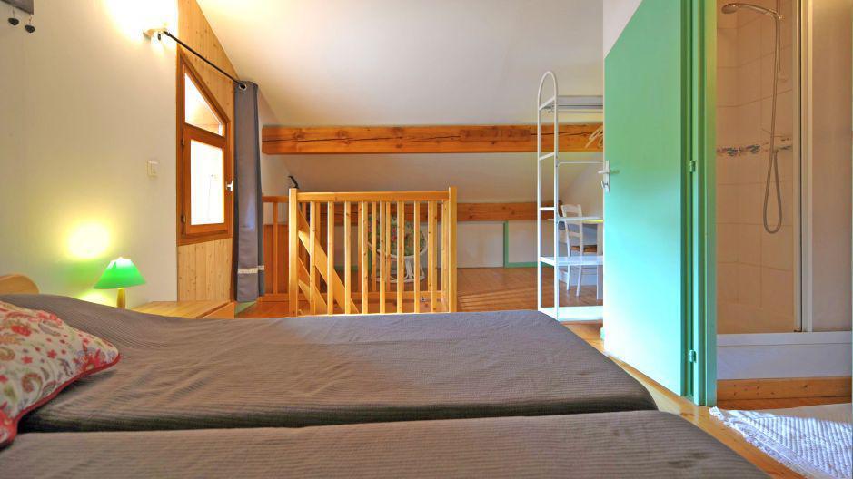 Vacances en montagne Appartement duplex 3 pièces 5 personnes - Chalet Iris - Saint Martin de Belleville - Chambre
