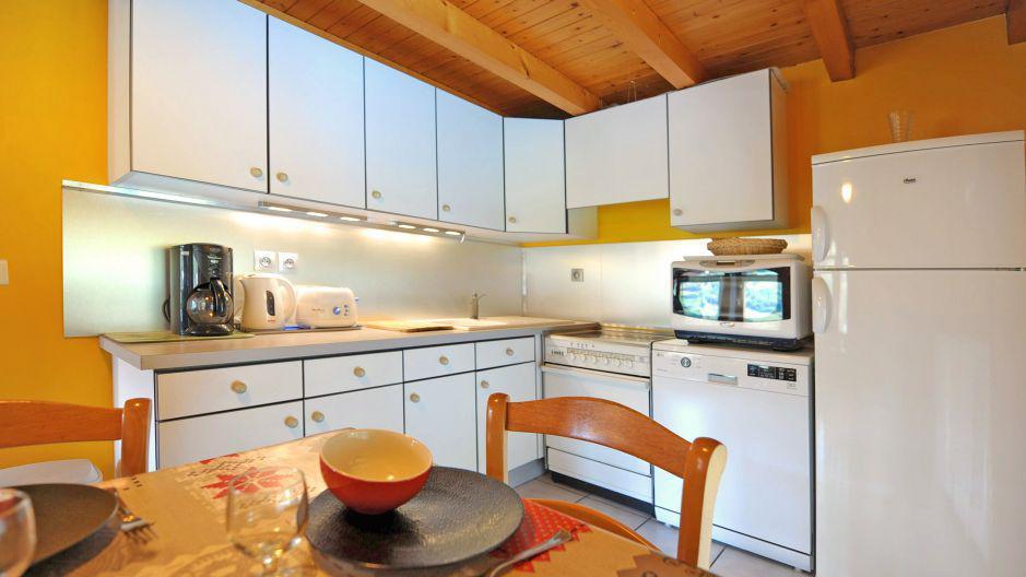 Vacances en montagne Appartement duplex 3 pièces 5 personnes - Chalet Iris - Saint Martin de Belleville - Cuisine