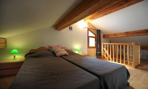 Vacances en montagne Appartement duplex 3 pièces 5 personnes - Chalet Iris - Saint Martin de Belleville - Lit simple