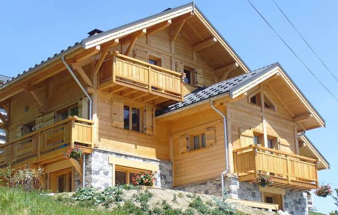 Rent in ski resort Chalet Jardin d'Hiver - La Toussuire - Summer outside