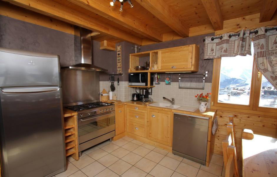 Vacanze in montagna Chalet Jardin d'Hiver - La Toussuire - Cucina