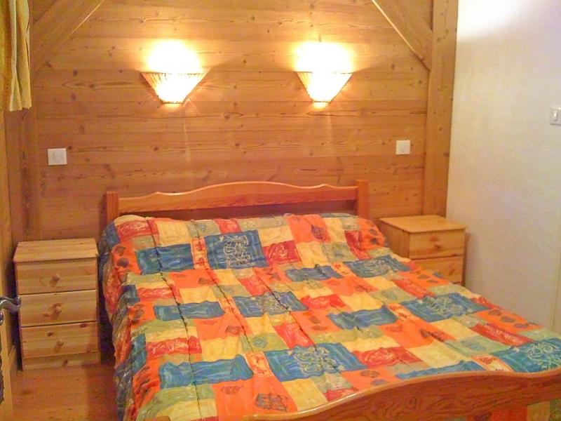 Holiday in mountain resort Chalet Joly - Champagny-en-Vanoise - Bedroom