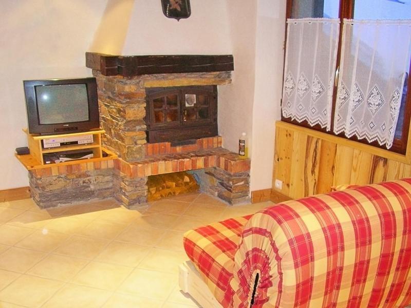 Holiday in mountain resort Chalet Joly - Champagny-en-Vanoise - Living area