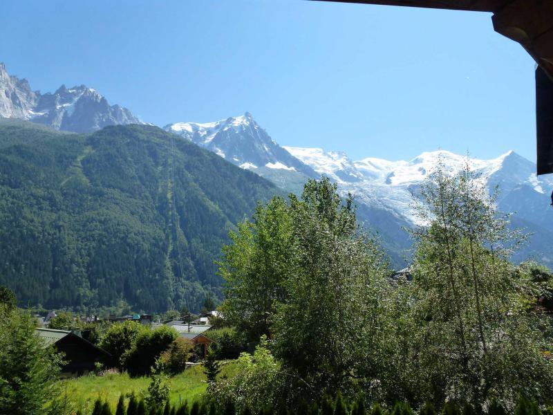 Vacances en montagne Chalet duplex 3 pièces 4 personnes - Chalet June - Chamonix - Extérieur été