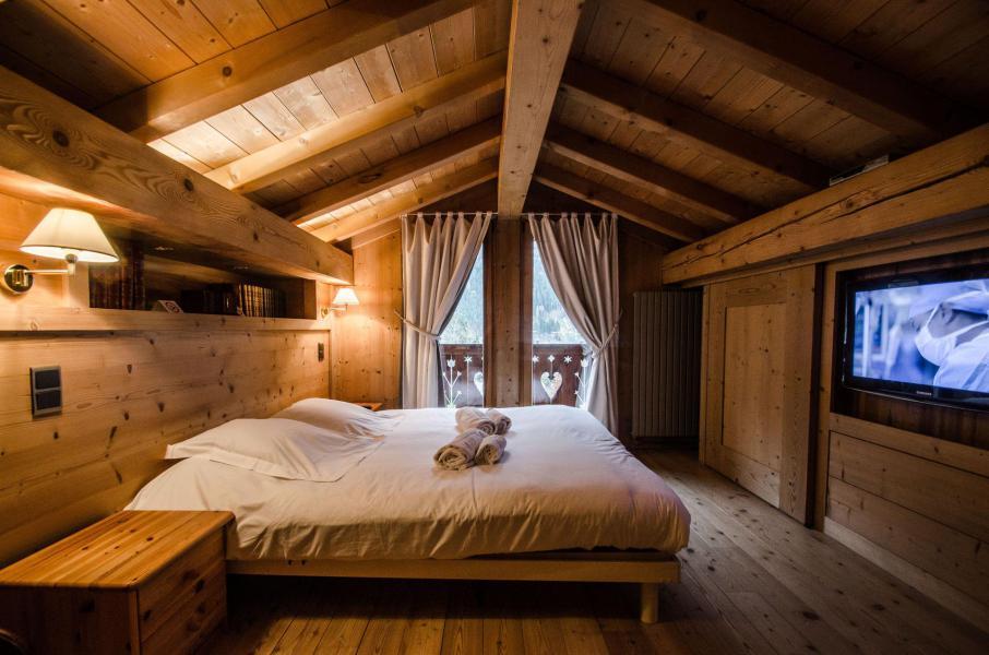 Vacances en montagne Chalet duplex 3 pièces 4 personnes - Chalet June - Chamonix - Chambre