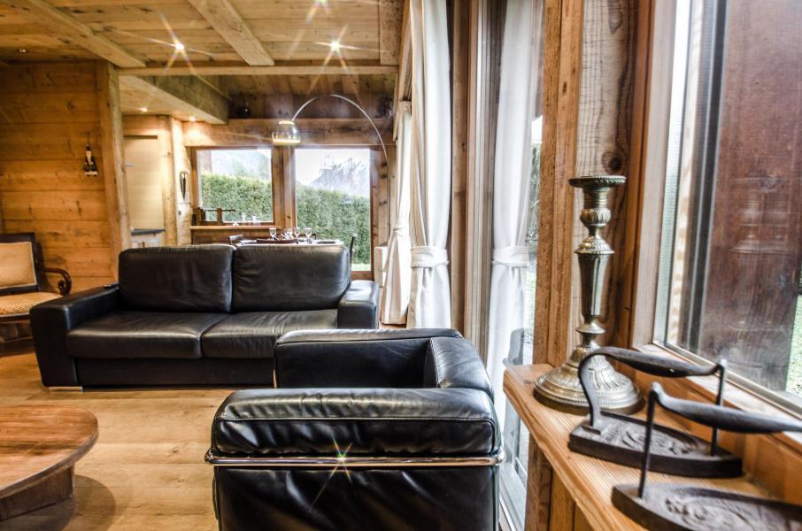 Vacances en montagne Chalet duplex 3 pièces 4 personnes - Chalet June - Chamonix - Séjour