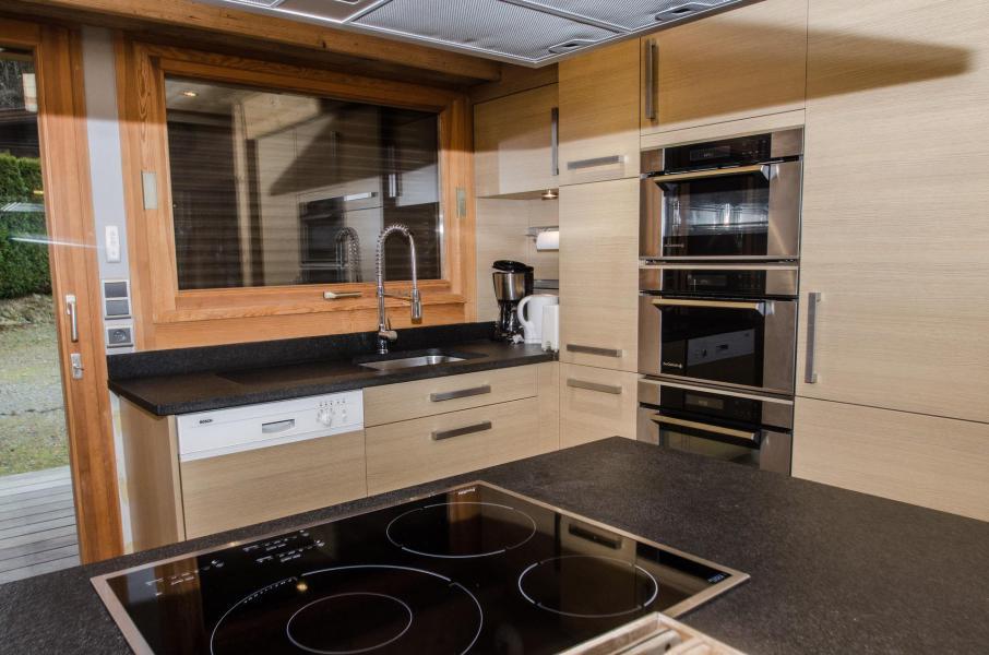 Wakacje w górach Domek górski duplex 3 pokojowy dla 4 osób - Chalet June - Chamonix - Kuchnia