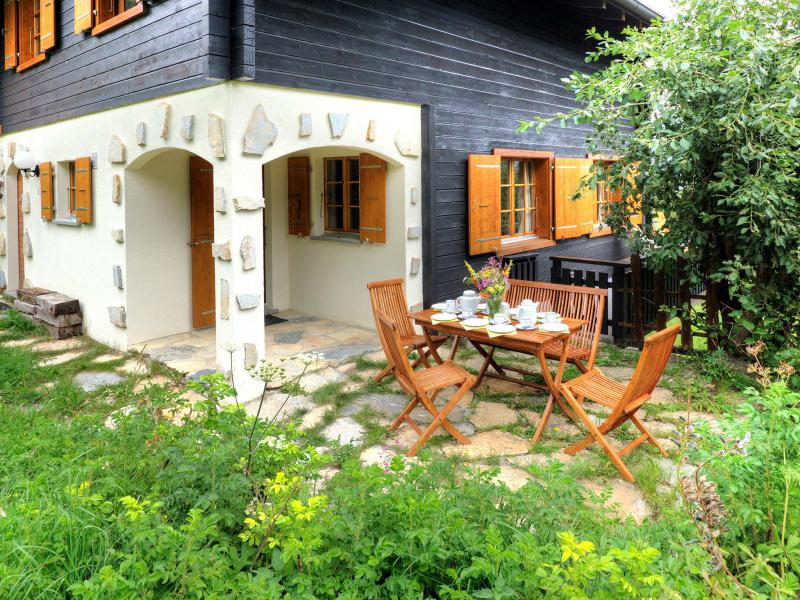 Skiverleih Chalet Karibu - Thyon - Draußen im Sommer