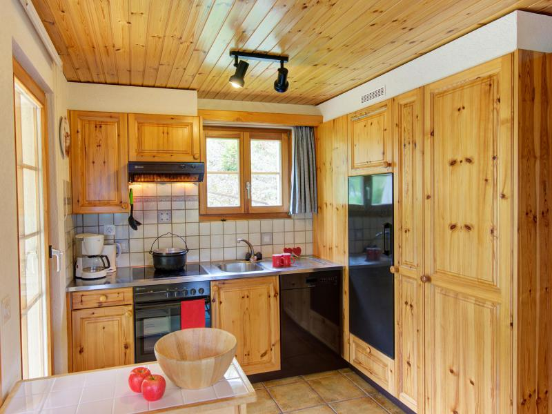 Holiday in mountain resort Chalet Karibu - Thyon - Kitchenette