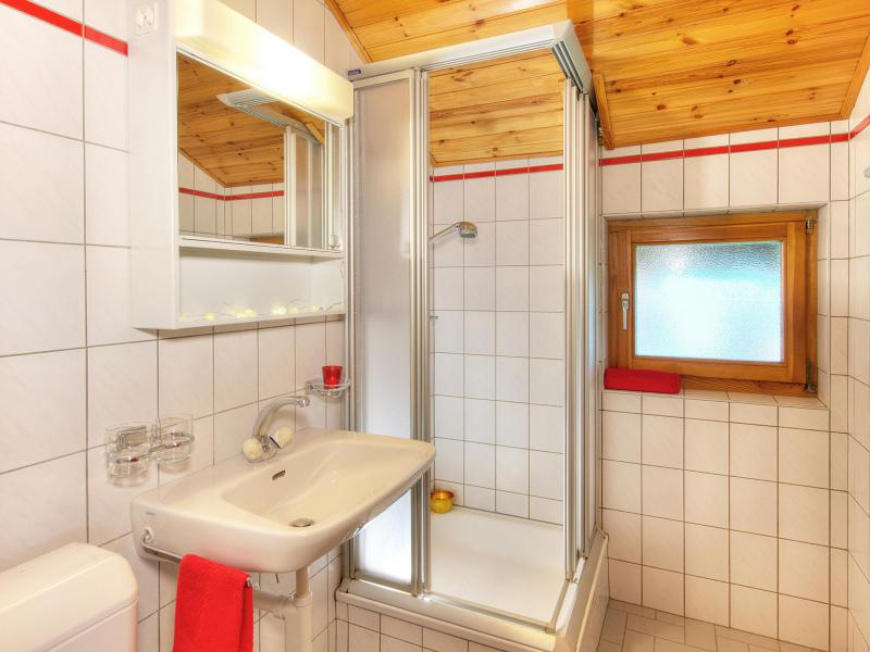 Holiday in mountain resort Chalet Karibu - Thyon - Shower room