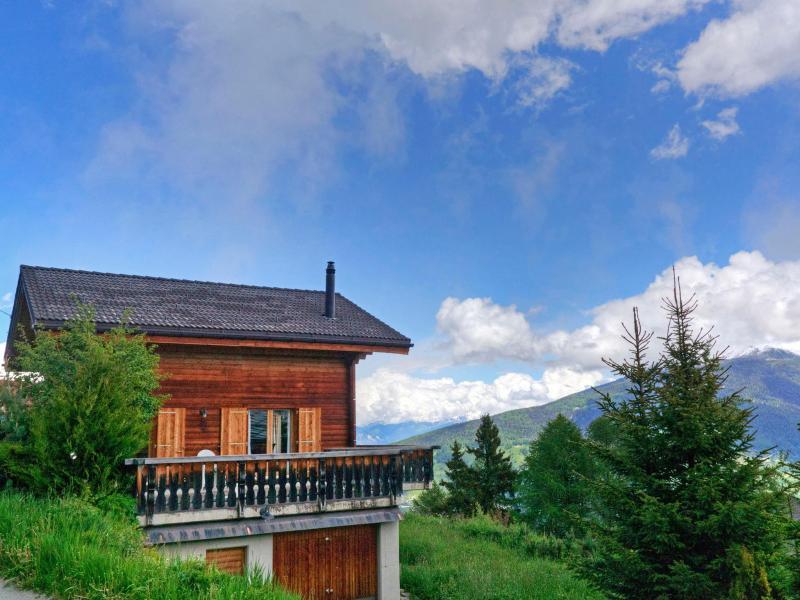 Location au ski Chalet Krokus - Thyon - Extérieur été