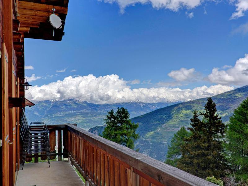Holiday in mountain resort Chalet Krokus - Thyon - Summer outside