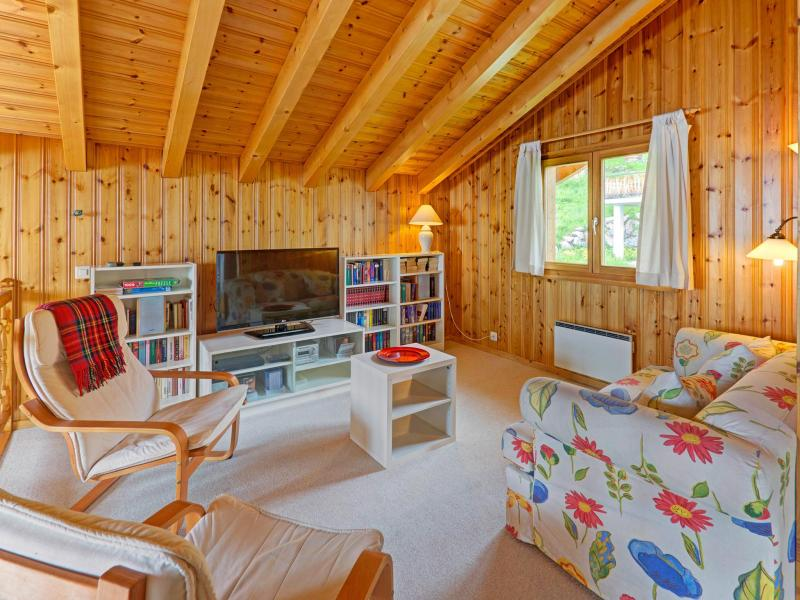 Holiday in mountain resort Chalet Krokus - Thyon - Living area