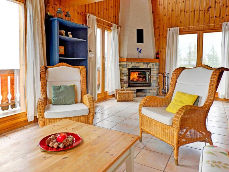 Holiday in mountain resort Chalet Krokus - Thyon - Living room