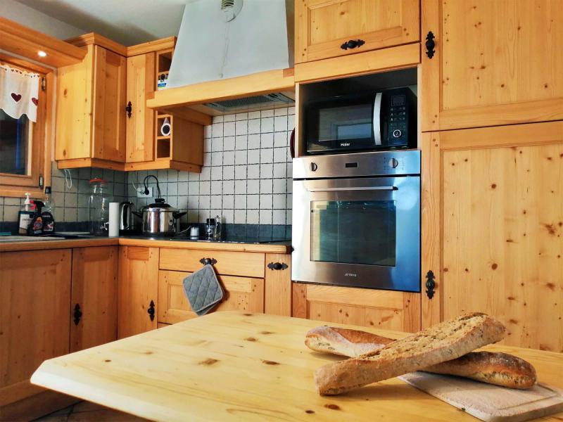 Vacances en montagne Chalet  L'Arclusaz - Méribel-Mottaret - Cuisine