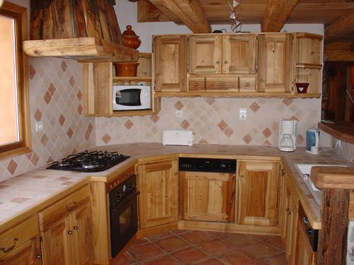 Vacances en montagne Appartement 12 personnes - Chalet l'Edelweiss - Champagny-en-Vanoise - Cuisine