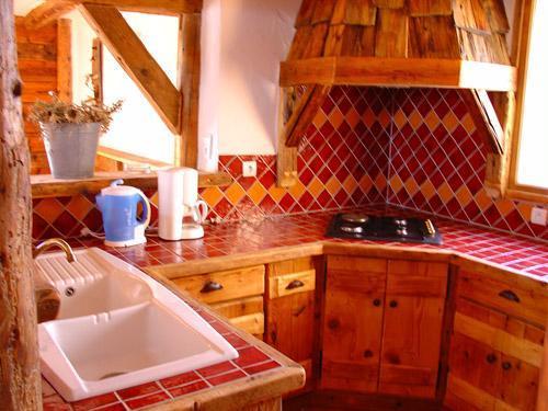 Vacances en montagne Appartement 8 personnes - Chalet l'Edelweiss - Champagny-en-Vanoise - Cuisine