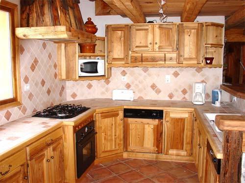 Vacances en montagne Chalet triplex 11 pièces 20 personnes - Chalet l'Edelweiss - Champagny-en-Vanoise - Cuisine