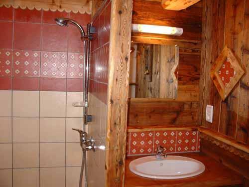 Vacances en montagne Chalet triplex 11 pièces 20 personnes - Chalet l'Edelweiss - Champagny-en-Vanoise - Salle d'eau