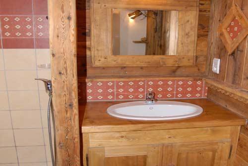 Vacances en montagne Chalet triplex 11 pièces 20 personnes - Chalet l'Edelweiss - Champagny-en-Vanoise - Salle de bains