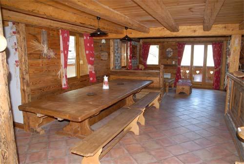Vacances en montagne Chalet triplex 11 pièces 20 personnes - Chalet l'Edelweiss - Champagny-en-Vanoise - Séjour