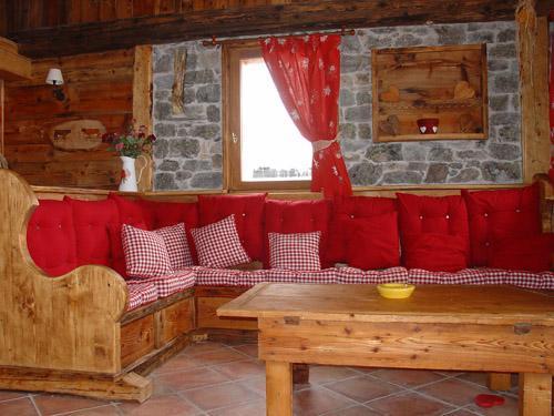 Vacances en montagne Chalet l'Edelweiss - Champagny-en-Vanoise - Coin séjour