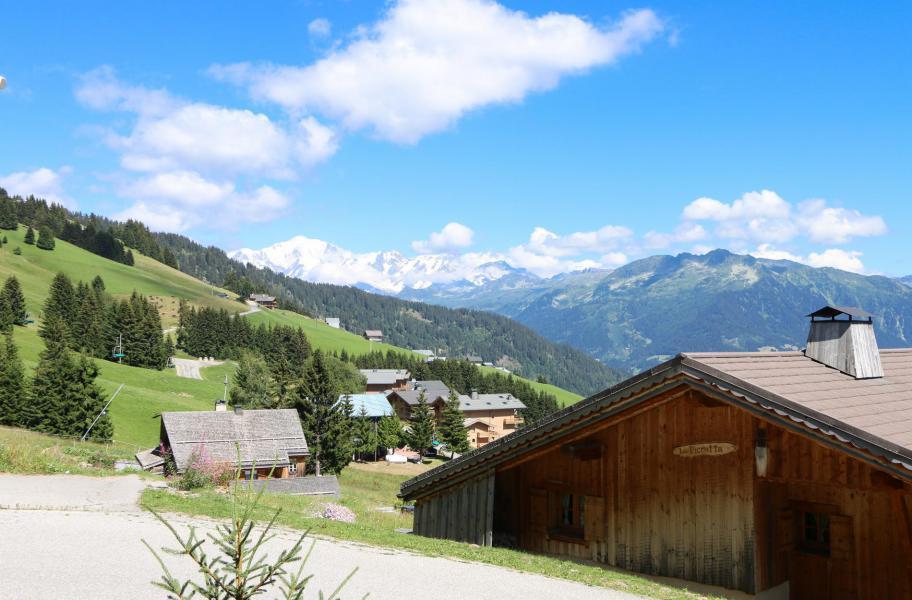 Location au ski Chalet 5 pièces 10 personnes - Chalet l'Eglantine - Les Saisies - Extérieur été