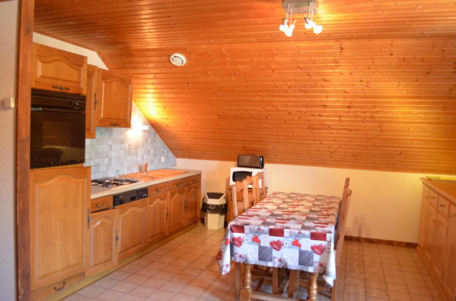 Vacaciones en montaña Apartamento 3 piezas para 6 personas (1) - Chalet l'Epicéa - Châtel - Mesa