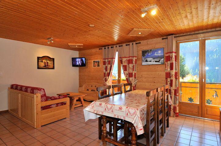 Vacaciones en montaña Apartamento 3 piezas para 6 personas (2) - Chalet l'Epicéa - Châtel - Mesa