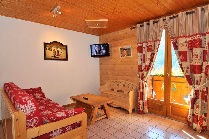 Vacaciones en montaña Apartamento 3 piezas para 6 personas (2) - Chalet l'Epicéa - Châtel - Sofá