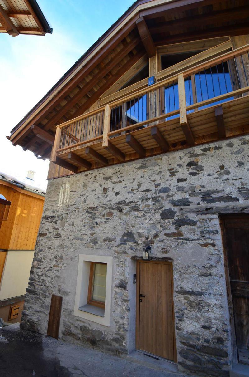 Vacances en montagne Chalet l'Etable - Saint Martin de Belleville - Extérieur été