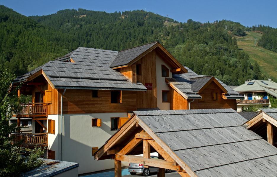 Vacances en montagne Chalet l'Eterlou - Serre Chevalier - Extérieur été