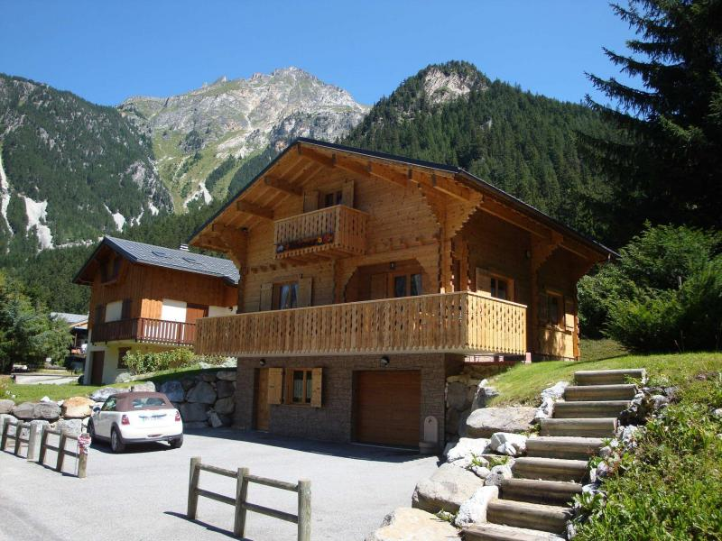 Rent in ski resort Chalet l'Hibiscus - Pralognan-la-Vanoise - Summer outside