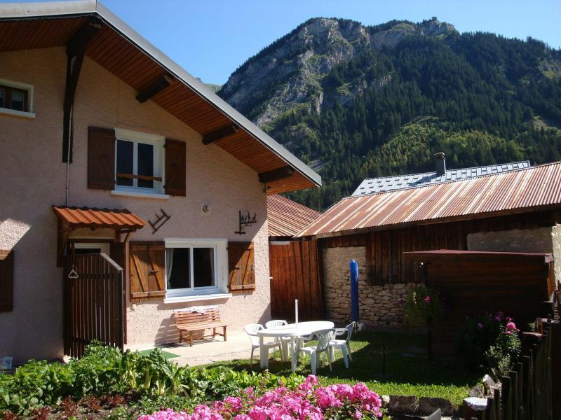 Ski verhuur Chalet la Bourna de l'Ors - Pralognan-la-Vanoise - Buiten zomer