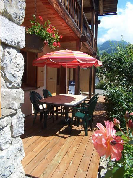 Vacaciones en montaña Apartamento 3 piezas para 5 personas (2) - Chalet la Buissière - Le Grand Bornand - Verano