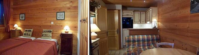 Vacaciones en montaña Apartamento 2 piezas para 4 personas (1) - Chalet la Buissière - Le Grand Bornand - Estancia