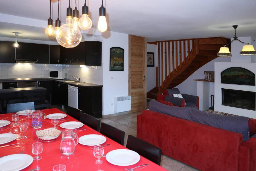 Vacances en montagne Chalet mitoyen 5 pièces 10 personnes - Chalet la Combe d'Or - Les Orres
