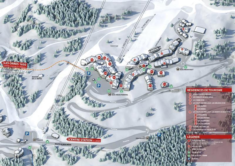 Vacances en montagne Chalet la Combe d'Or - Les Orres