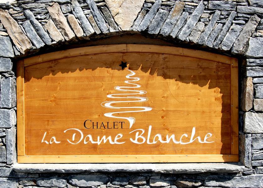Vakantie in de bergen Chalet la Dame Blanche - Les Menuires