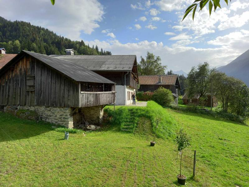 Rent in ski resort Chalet la Gayolle - Saint Gervais - Summer outside